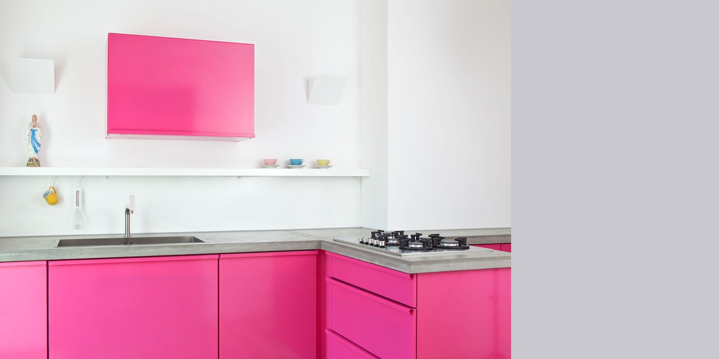 Künstlerisch Pinke Küche Das Beste Von